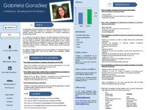 thumbnail of Curriculum Gabriela González